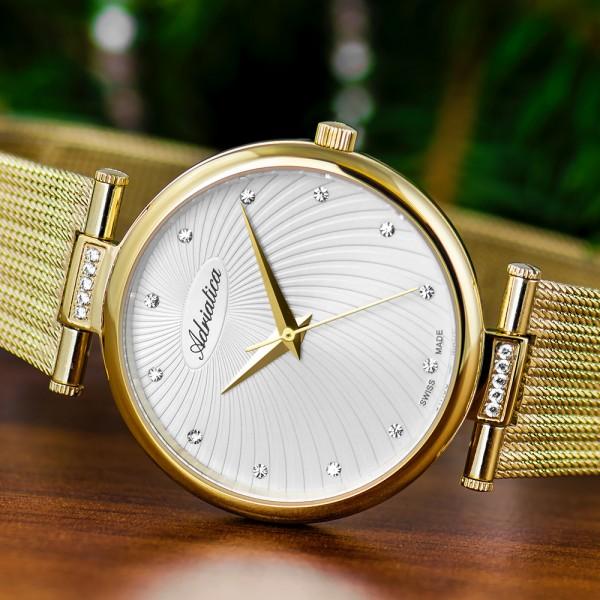 Uhr Dame Gold